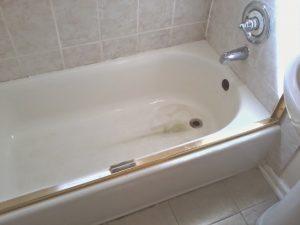 bain entartré