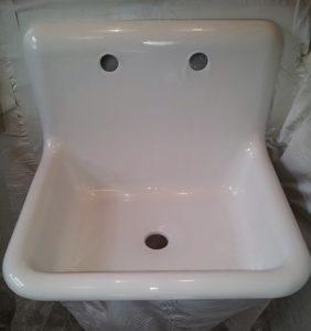 cuve de lavage ré-emaillée